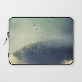 close to the edge Laptop Sleeve