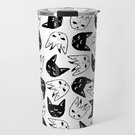 Demonic Cats Travel Mug