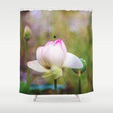 Lotus Life Shower Curtain