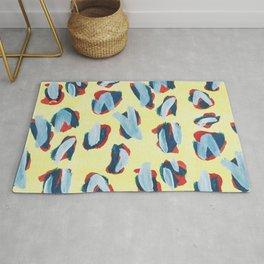abstract, collab, Eva Halfers Rug