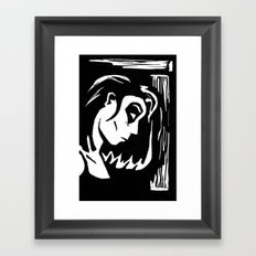 Domino Framed Art Print