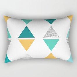 Triangles 1 Rectangular Pillow
