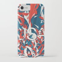 usa iPhone & iPod Cases featuring USA by Danny Ivan