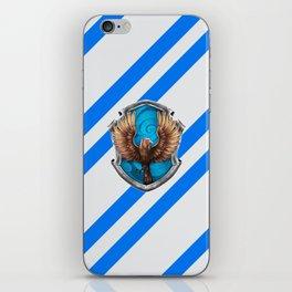 Ravenclaw Hogwarts Stripes iPhone Skin