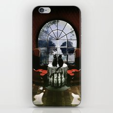 Room Skull iPhone Skin