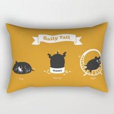 The Daily Tail Hamster Rectangular Pillow