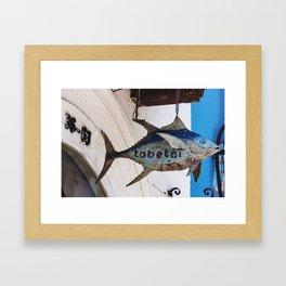Tabetai Fish @ Cartagena Framed Art Print