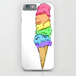 Happy Ice Cream iPhone Case