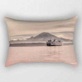 Morning Commute Rectangular Pillow