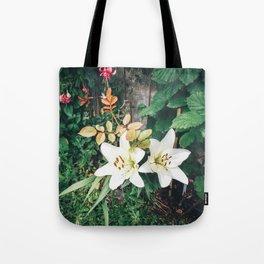 Beautiful Garden colours Tote Bag