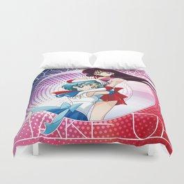 Sailor Moon Super S - Mars & Mercury Cryacstal Power! Duvet Cover