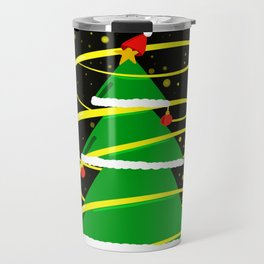 Beautiful Christmas tree Travel Mug