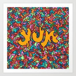 yum70 Art Print