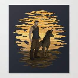 Riddick and Escape Artist Canvas Print