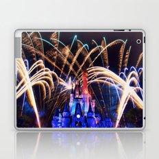 Walt Disney World Christmas Eve Fireworks Laptop & iPad Skin