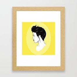 BianCamée Jonquille Framed Art Print