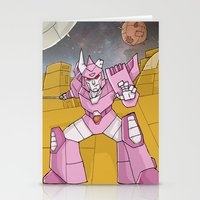 transformers Stationery Cards featuring Transformers - Cyclonus by Demonology7789