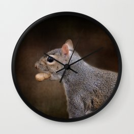 The Nut Collector Wall Clock