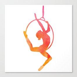 Lyra/Hoop Aerial Artist Canvas Print