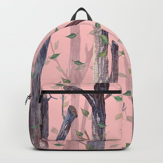 Forest Pink Backpack