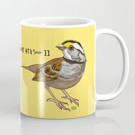 Fall Of A Sparrow Kaffeebecher