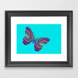 Life Is Like A Butterfly Framed Art Print