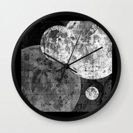 Moons Wall Clock