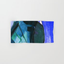 Abstraction 317I by Kathy Morton Stanion Hand & Bath Towel