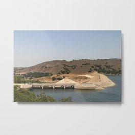 Bradbury Dam Metal Print