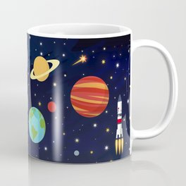 In space Coffee Mug