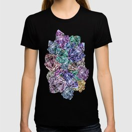 Crystal Mountain Ultraviolet T-shirt