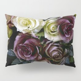 Roses Dark Moody Old Masters Pillow Sham
