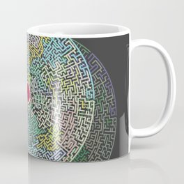 Maze You Cant Get There From Here Coffee Mug