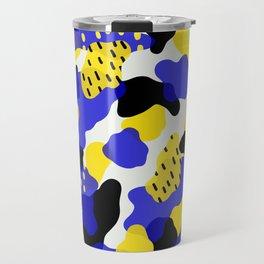 abstract blobs 2 Travel Mug
