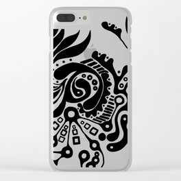 Bacteria Clear iPhone Case