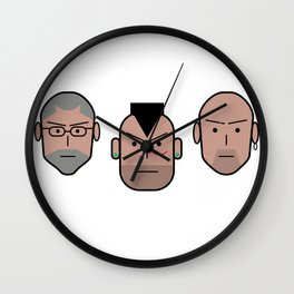 Gomorralaserie Wall Clock