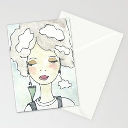 Pensieri e nuvole Stationery Cards