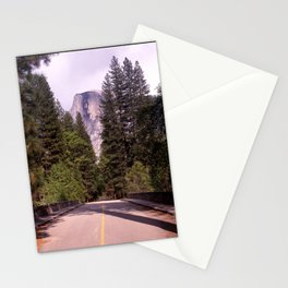 Ahwahnee Bridge, Yosemite Village Stationery Cards