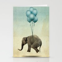 dumbo Stationery Cards featuring Dumbo by Vin Zzep