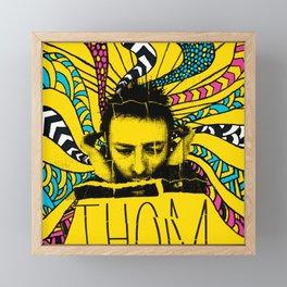 Thom Yorke Nightmare Framed Mini Art Print