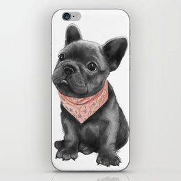parlez-vous frenchie? iPhone Skin