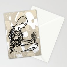 man with sparks Stationery Cards