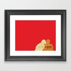 City of God Framed Art Print