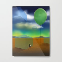 Air To Breathe Metal Print