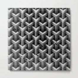 GS Geometric Abstrac 04A4A S6 Metal Print