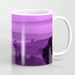 My road, my way. Purple. Coffee Mug