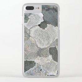 Lichen Magic Clear iPhone Case