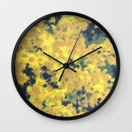 Flowerimg tree Wall Clock