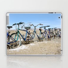 Bike Fence 2 Laptop & iPad Skin