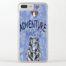 Adventure Awaits - Bagaceous Clear iPhone Case